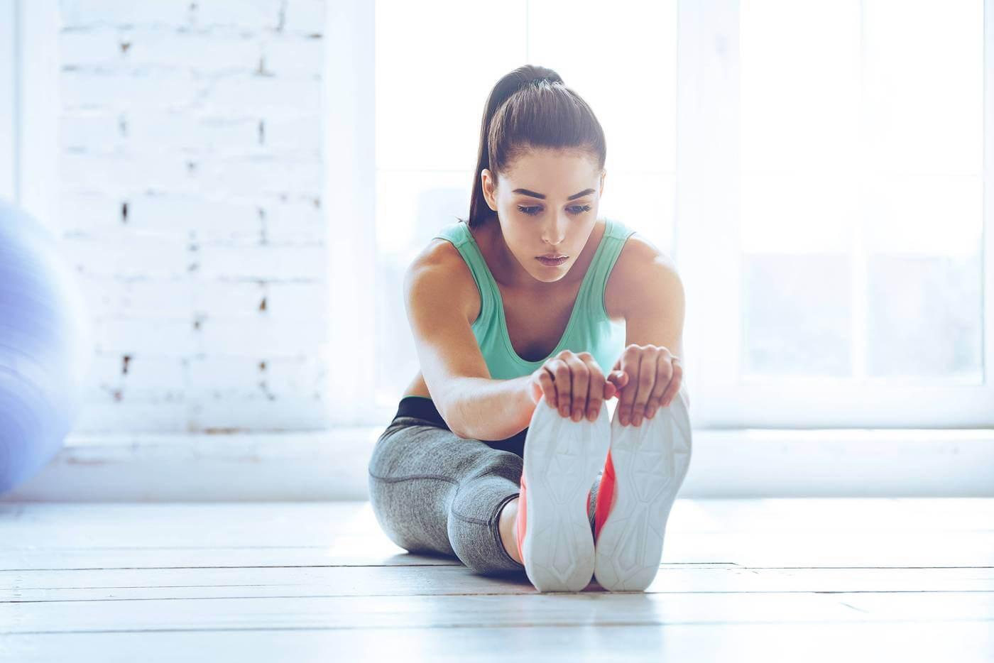 alongamento para ginástica exercício para pernas