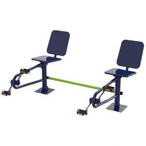 Bicicleta de Cadeira Dupla 3