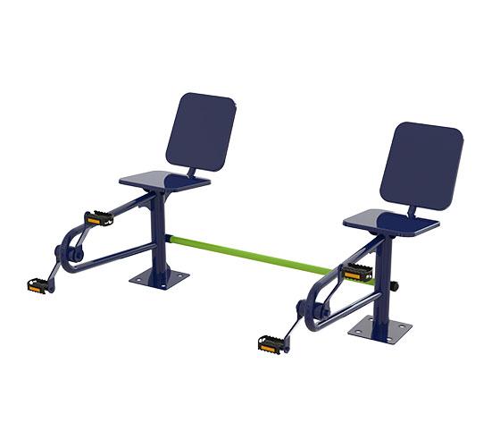Bicicleta de Cadeira Dupla 2