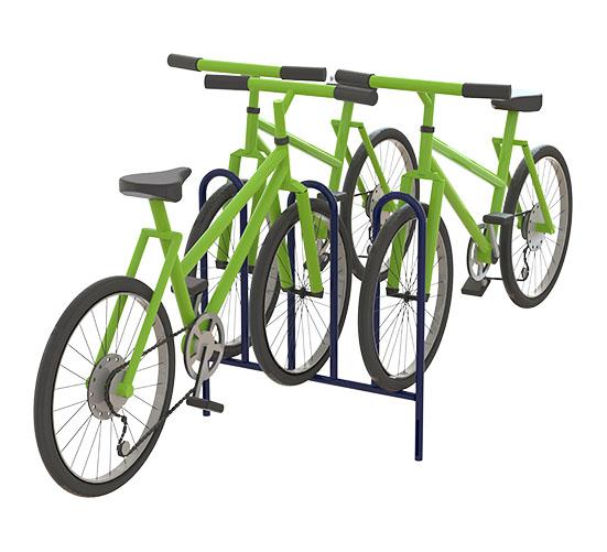 Bicicletário 3 Lugares 2