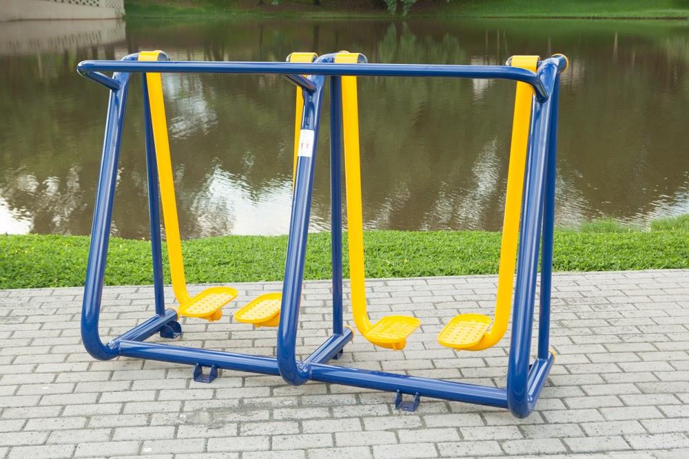 ergonomia na academia ao ar livre